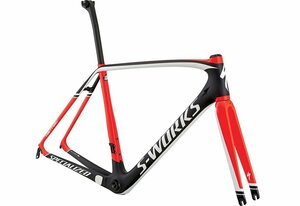 Specialized SW TARMAC FRMSET CARB/RKTRED/WHT 54