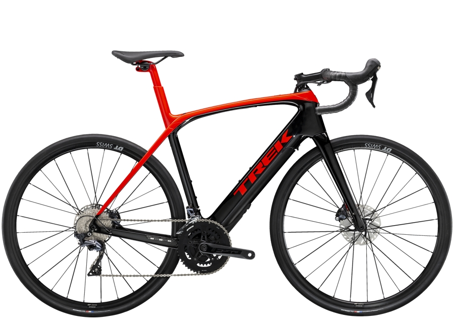 Trek Domane+ LT 58 Radioactive Red/Trek Black