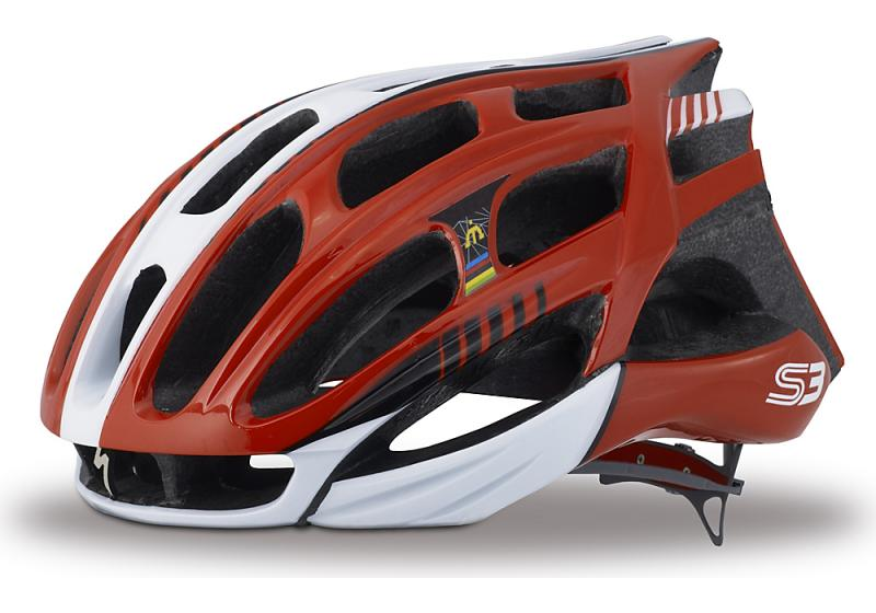 Specialized S3 Road Helm Red/White S