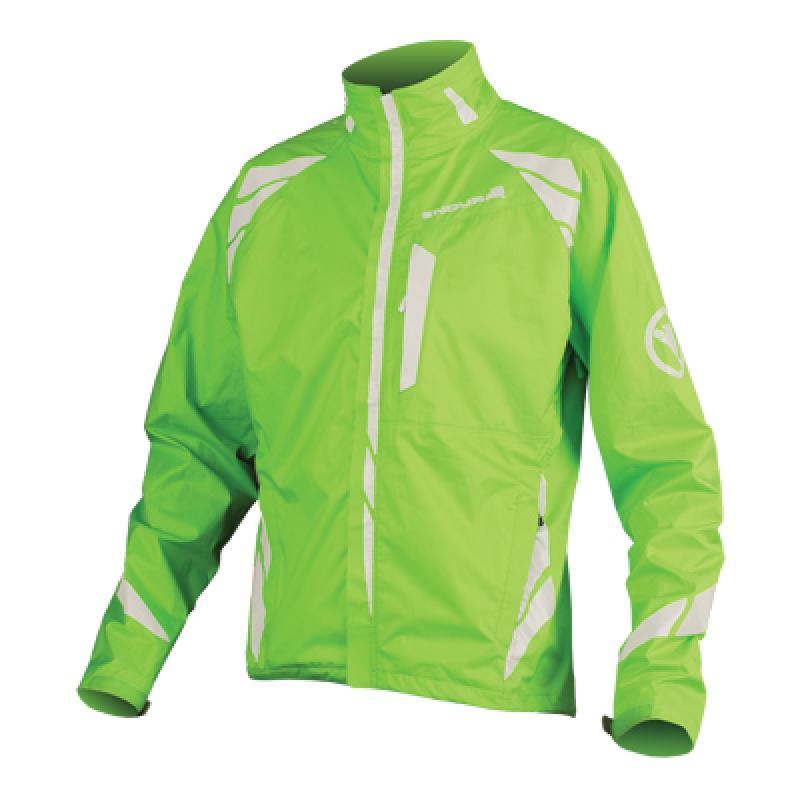 Endura Luminite II Jacket Hi Vis Green M