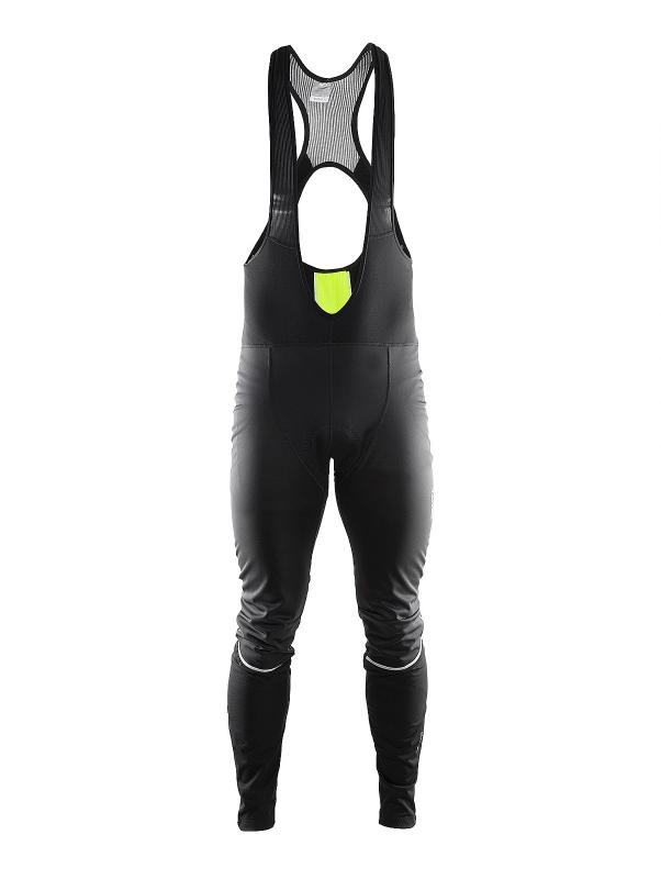 Craft Storm Bib Tights M Black/Flumino S