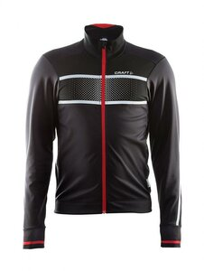 Craft Craft Glow Jacket M Black/Bright Red M