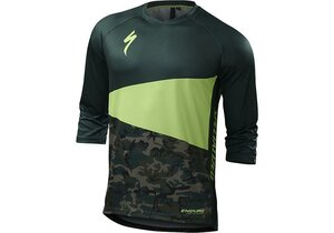 Specialized Enduro Comp 3/4 Jersey Monster Green/Camo L