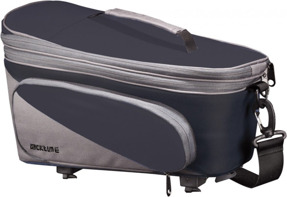 Racktime Talis plus trunk bag carbon black/stone grey