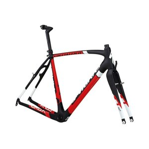 Specialized SW CRUX CARBON FRMSET CARB/RED/WHT 56
