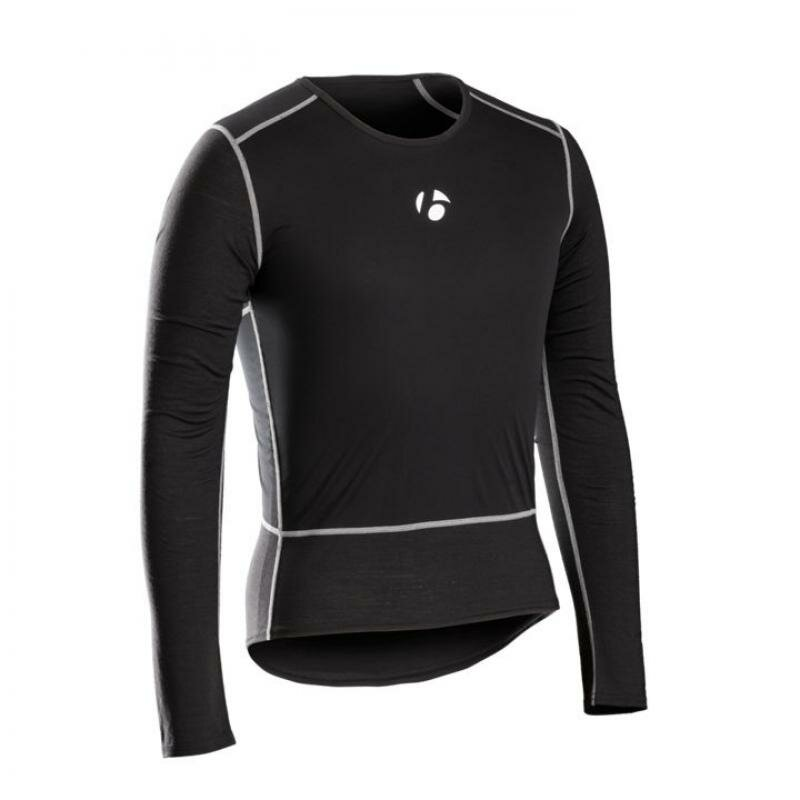 Bontrager Funktionswäsche B2 Windshell Long Sleeve S Black