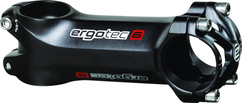 Ergotec Ahead-Vorbau High Piranha schwarz-matt