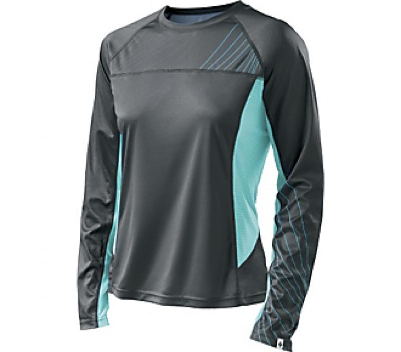 Specialized Andorra Comp Long Sleeve Jersey WMN Carbon/Light Teal L